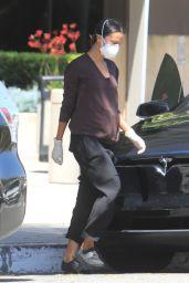 Zoe Saldana - Out in Los Angeles 05/13/2020