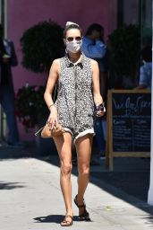 Alessandra Ambrosio at SusieCakes in Brentwood 06/11/2020