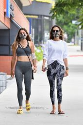 Alessandra Ambrosio at the Gym in LA 06/19/2020
