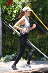 Alessandra Ambrosio - Out in Brentwood 06/03/2020