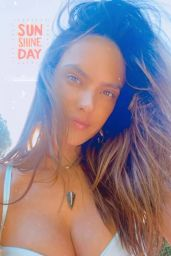 Alessandra Ambrosio - Personal Photos 06/08/2020