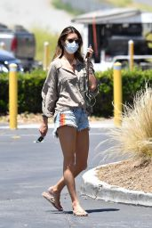 Alessandra Ambrosio Street Style - Out in Malibu 06/10/2020
