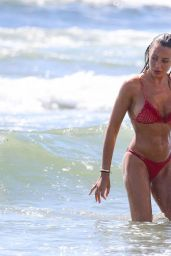 Alessia Tedeschi in a Bikini on the Beach in Italy 06/21/2020