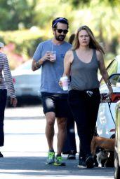 Alicia Silverstone - Takes a Morning Stroll in LA 06/14/2020