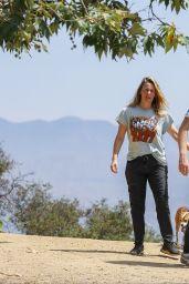 Alicia Silverstone - Walks Her Dogs in Los Angeles 06/03/2020