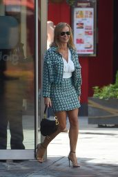 Amanda Holden in Mini Skirt With Matching Jacket - London 06/16/2020