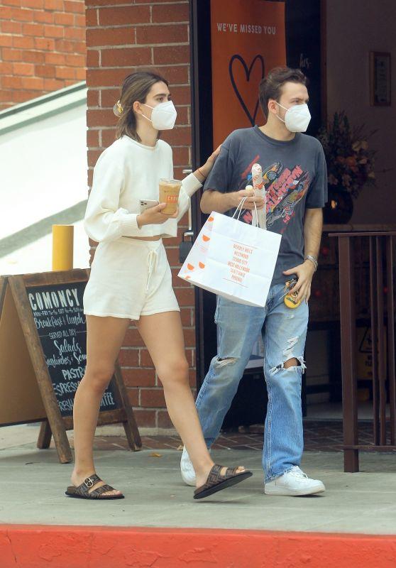 Amelia Hamlin With Her Boyfriend in Beverly Hills 06/24/2020