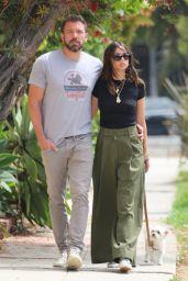 Ana De Armas and Ben Affleck - Out on a Stroll in Venice Beach 06/22/2020