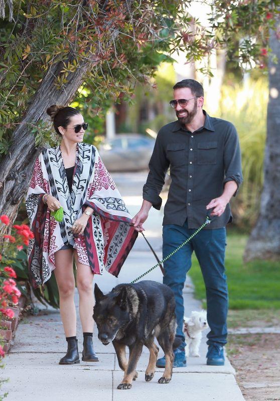 Ana De Armas and Ben Affleck - Santa Monica 06/29/2020