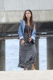 Ana De Armas - Out For a Walk Along the Beach in Venice 06/18/2020