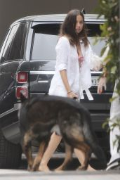 Ana De Armas - Outside Her House in Brentwood 06/28/2020