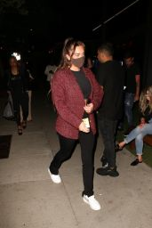 Anastasia Karanikolaou - Leaving Boa Steakhouse in West Hollywood 06/23/2020