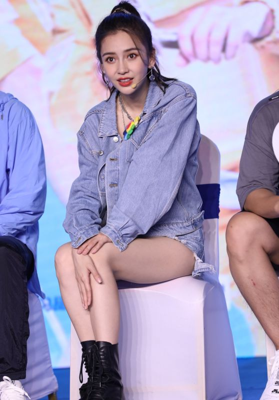 Angelababy - Chinese Variety Show Keep Running Season 4 in Beijing 06/11/2020