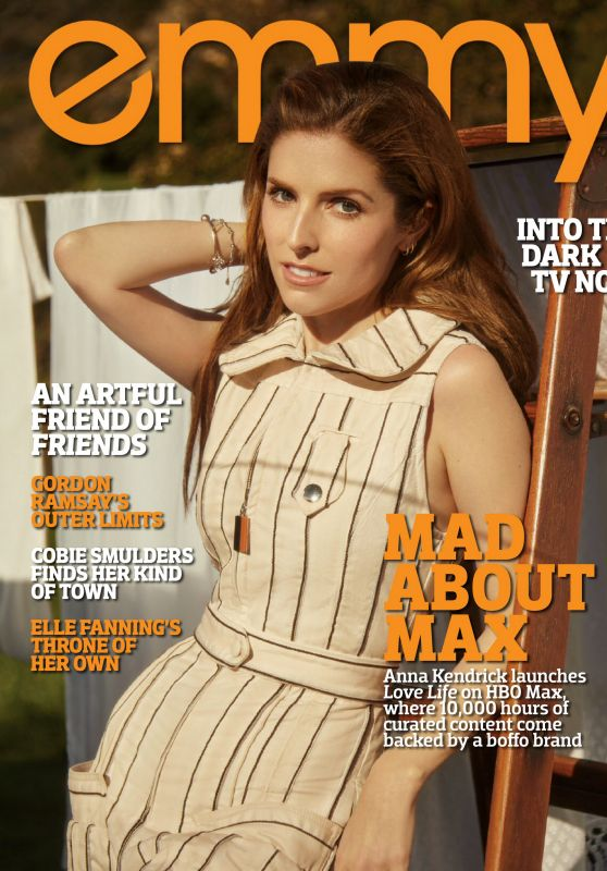 Anna Kendrick – Emmy Magazine May 2020 Issue