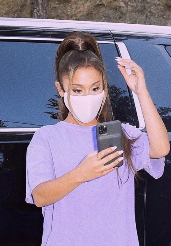 Ariana Grande - Social Media Photos 06/27/2020