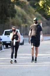 Ashley Benson and G-Eazy - Hike Together in LA 06/25/2020