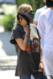 Ashley Benson - Grab Her Morning Coffee at Alfred Coffee in West Hollywood 06/13/2020