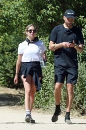 Ashley Benson Outfit - Hiking in Los Angeles 06/13/2020