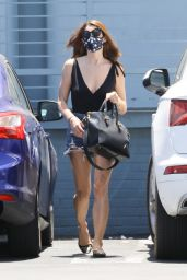 Ashley Greene in a Pair Of Daisy Dukes - Los Angeles 06/13/2020