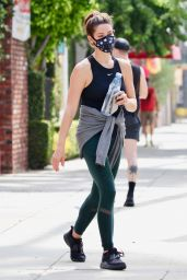 Ashley Greene - Leaving a Workout Session at a Gym in LA 06/22/2020