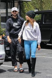 Ashley Greene With Her Husband Paul Khoury at South Beverly Grill in Beverly Hills 06/18/202