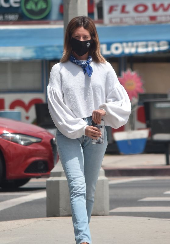 Ashley Tisdale - Out in LA 06/17/2020
