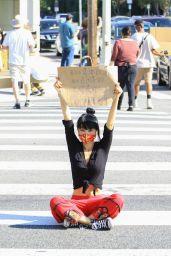 Bai Ling - Black Lives Matter Protest in Studio City 06/03/2020