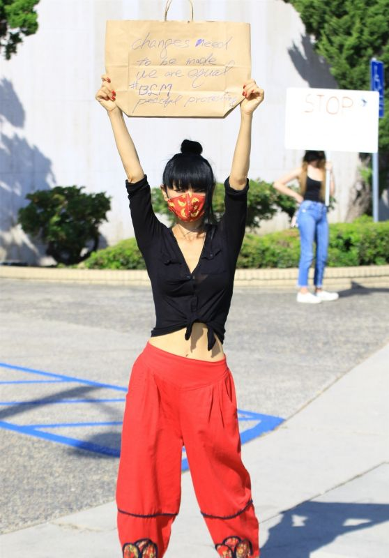 Bai Ling - Black Lives Matter Protest in Studio City 06/03/2020