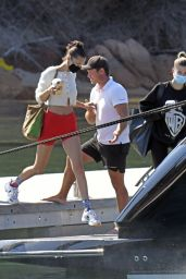 Bella Hadid on a Yacht in Sardinia 06/23/2020