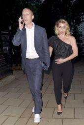 Billie Piper and Laurence Fox - Arriving For the Glamour Awards in London 06/08/2020