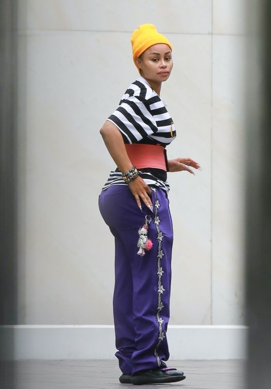 Blac Chyna - Out in Beverly Hills 06/18/2020
