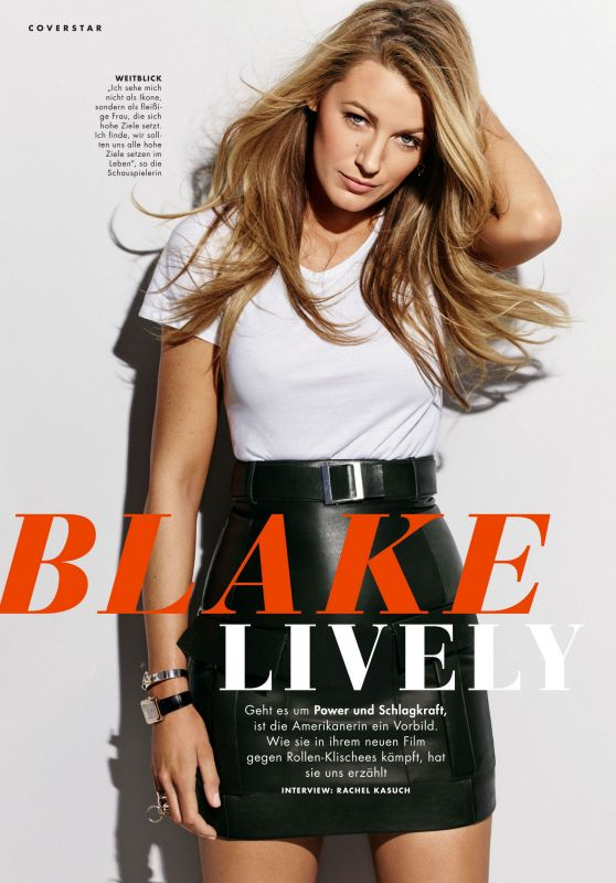 Blake Lively - Cosmopolitan Germany July 2020 Issue