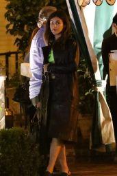 Cara Delevingne and Margaret Qualley on a Cozy Dinner in LA 06/24/2020