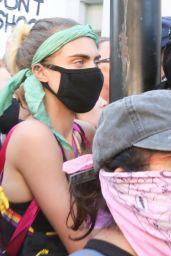 Cara Delevingne - Protesting in LA 06/03/2020