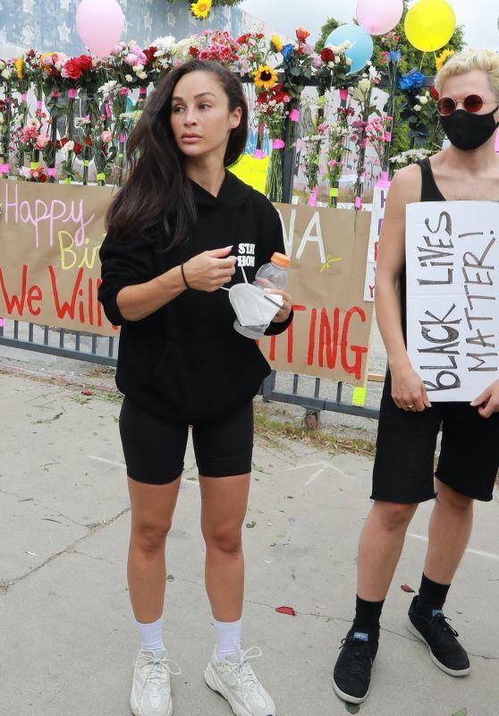 Cara Santana - Breonna Taylor Protest in Los Angeles 06/05/2020