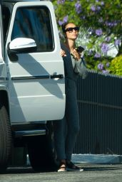 Cara Santana - Making a Visit to Girlfriend Olivia Culpo