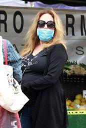 Catherine Bach - Farmers Market in LA 06/28/2020