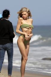 Charlotte McKinney - Hits the Beach for a Photo Session in LA 06/22/2020