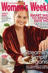 Chrissy Teigen - Singapore Womens Weekly June/July 2020 Issue