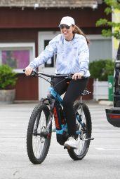 Christina Schwarzenegger - Bike Ride in Brentwood 06/16/2020
