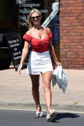 Christine McGuinness Leggy in Mini Skirt 06/01/2020