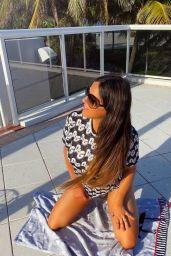 Claudia Romani - Photoshoot for Italian Boutique Cerbero Store in Miami 06/07/2020