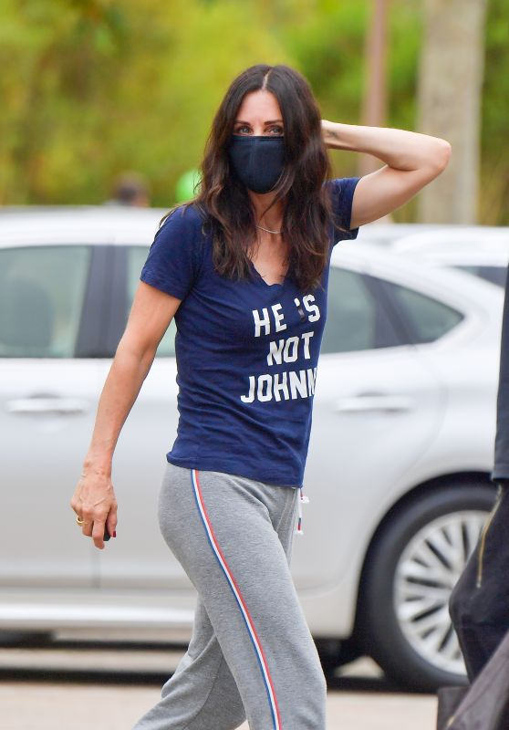 Courtney Cox - Out in Malibu 06/28/2020