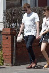 Daisy Edgar-Jones and Her Boyfriend Tom Varey - Out in London 06/14/2020