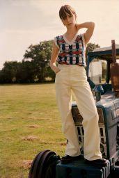 Daisy Edgar-Jones - The Edit by Net-A-Porter June 2020 Cover and Photos