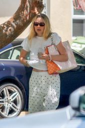 Dakota Fanning - Birthday Party in Studio City 06/15/2020
