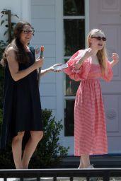 Dakota Fanning - Out in Los Angeles 06/12/2020