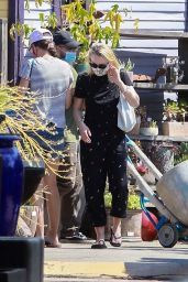 Dakota Fanning - Outside a Plant Nursery in LA 06/04/2020