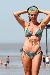 Danielle Lloyd in a Bikini - Weston Supermare Beach 06/25/2020
