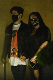 Demi Lovato - Leaving Nobu in Malibu 06/19/2020